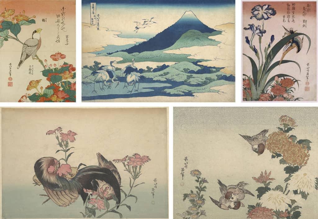 Hokusai Katsushika obrazy LueLue reprodukcja