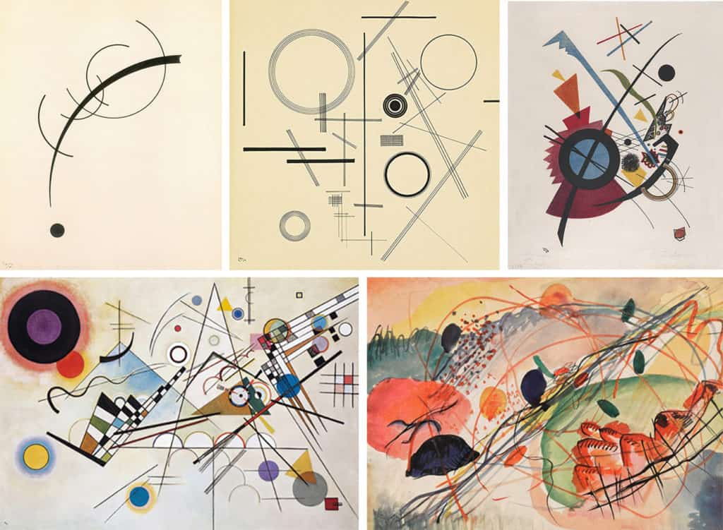 Kandinsky reprodukcje obrazow LueLue reprodukcja