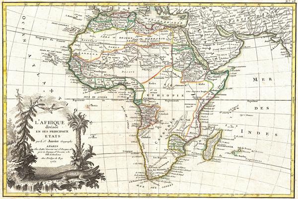 mapa afryki