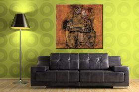 Matka z dwójką dzieci - Egon Schiele - reprodukcja