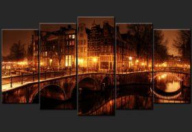 Amsterdam nocą