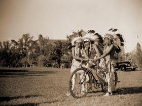 Indianie na rowerze