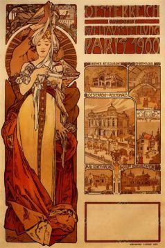 Alfons Mucha - Austria 1889r