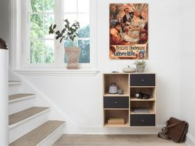 Alfons Mucha - Biscuit champange leferve utile