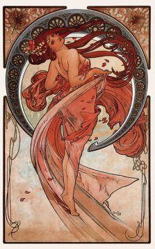 Alfons Mucha - Dance