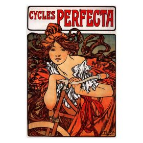 Alfons Mucha 1902 - Cycles Perfecta