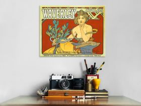 Alfons Mucha - Waverley Cycles