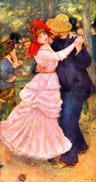 Dance in Bougival by Renoir