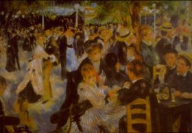 Bal w Moulin de la Galette (Bal du moulin de la Galette) -  Auguste Renoir - reprodukcja