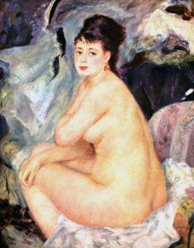 Akt, Anna  - Auguste Renoir - reprodukcja