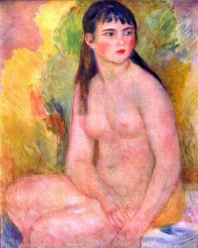 Akt, naga kobieta - Auguste Renoir - reprodukcja