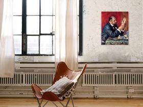Ambroise Vollard - Auguste Renoir - reprodukcja
