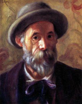 Autoportret -  Pierre Auguste Renoir - reprodukcja