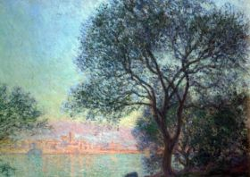 Antibes seen from La Salis by Monet