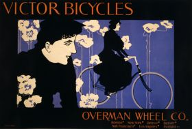 Poster - Rower - Victor Bicycles