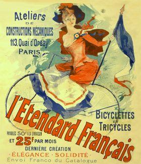 Poster - Rower - L'étendard Française