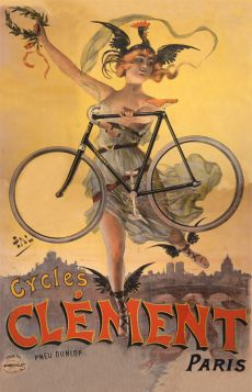 Poster - Rower - Cycles Clément, Paris