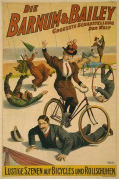 Poster - Rower - Die Barnum & Bailey