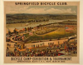 Poster - Rower - Springfield Bicycle Club
