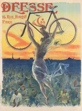 Poster - Rower - 1898 - Déesse
