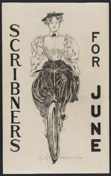 Poster - Rower - 1896 -  Scribners for June
