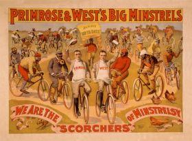Poster - Rower - 1896 - Primrose & West's Big Minstrels