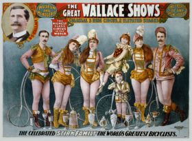 Poster - Rower - 1898 - The Great Wallace shows