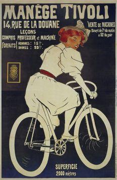 Poster - Rower -  Manege Tivoli