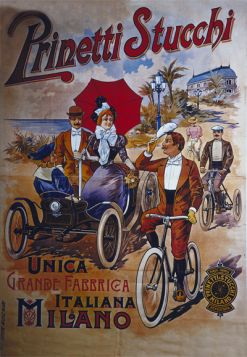 Poster - Rower -  1890 - Prinetti Stucchi