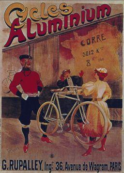 Poster - Rower - Cycles Aluminium