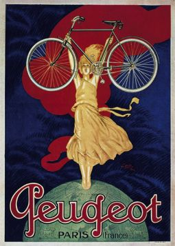 Poster - Rower - Peugeot