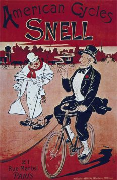 Poster - Rower - 1901 - American Cycles Snell