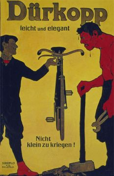 Poster - Rower - 1910 - Durkopp Leicht Und Elegant
