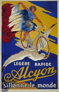Poster - Rower - Alcyon