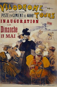Poster - Rower - Velodrome Tours