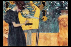 Muzyka (Music) - Gustav Klimt - reprodukcja