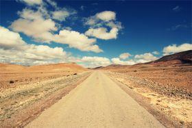 Maroko, Pustynna droga