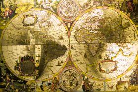 Antyczna mapa świata