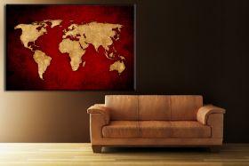 Mapa Vintage