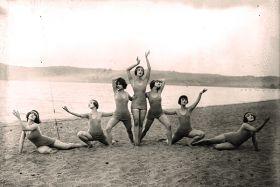 Akrobacje na plaży