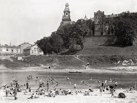 Plaża pod Wawelem