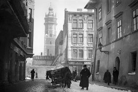 Żyd przy Placu Wolnica