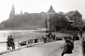 Willa Rożnowskich w Krakowie - fotografia vintage