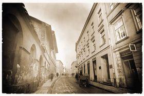 Kartka pocztowa - Ulica św. Krzyża