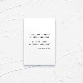 Kartka pocztowa – Bernard Shaw