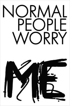 Kartka pocztowa – Normal People Worry Me