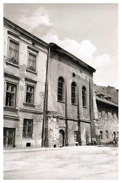 Kartka pocztowa – Synagoga Wysoka