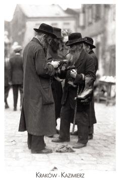 Kartka pocztowa – Handlujący żydzi