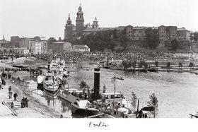 Kartka pocztowa – Obchody święta Morza na Wiśle – napis