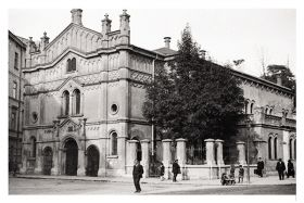 Kartka pocztowa – Synagoga Tempel